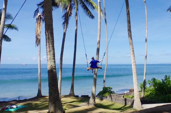 [旅レポ]Swingしてみる?海へとびだす絶叫ブランコで快感体験